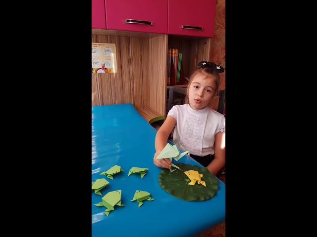 Изображение предпросмотра прочтения – ЭвелинаАбсиметова читает произведение «Сказка о желтой лягушке» И.С.Тургенева
