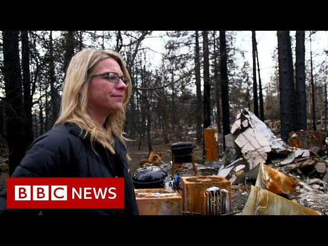 Paradise fire survivors: 'Losing everything has made me stronger' - BBC News