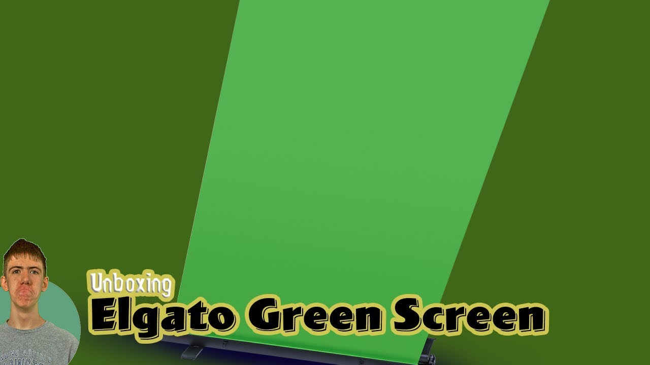 Elgato Green Screen | Unboxing and Setup