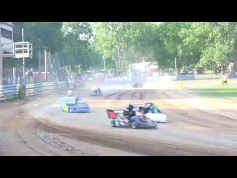 8-20-16 Central New York UAS 1/4 Pt Heat 1B at Starlite Speedway