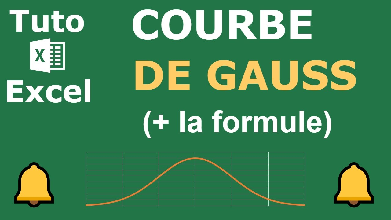 comment cr er une courbe de gauss sur excel loi normale youtube. Black Bedroom Furniture Sets. Home Design Ideas