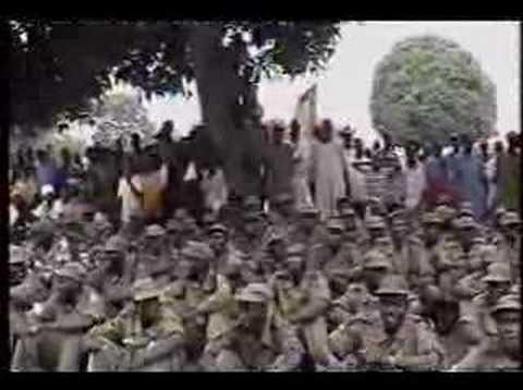 SPLA army in Aweil, South Sudan (Part III)