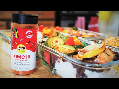 What I Eat in a Day & ft Seoul Sisters Kimchi Seasoning