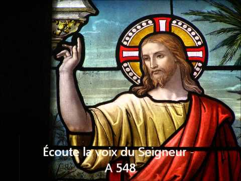 Écoute la voix du Seigneur - référence A 548