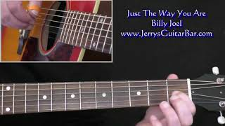 Billy Joel Just The Way You Are Intro Guitar Lesson
