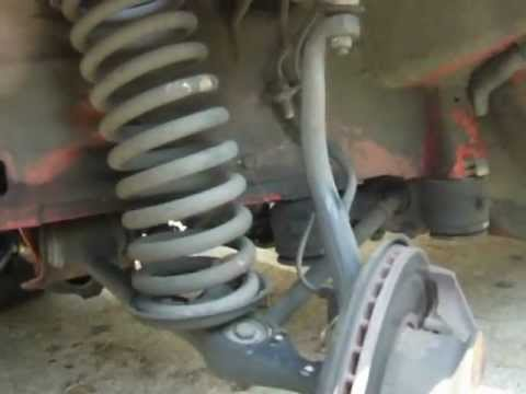 1983 Mercedes 300SD How to easily replace front shocks