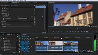 Эффекты и фильтры в Adobe Premiere Pro CC