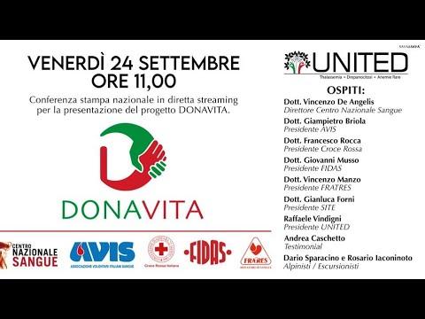 Conferenza Stampa Nazionale - Presentazione DONAVITA Project