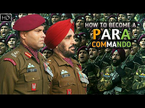 How To Become A Para Commando Indian Army Para Special Force