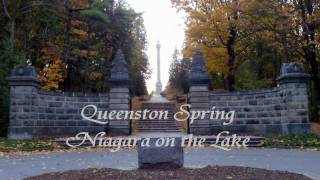 Queenston Natural Spring Water, Niagara on the Lake Ontario