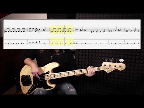 The Killers - Mr. Brightside (bass Cover With Tabs In Video)
