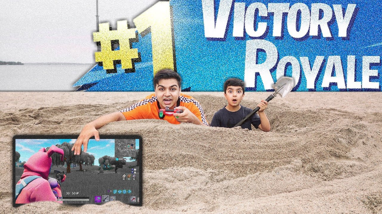 fortnite-beach-fort-challenge-with-my-6-year-old-little-brother-beach-fort-challenge