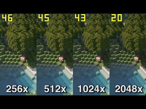 Stratum Gameplay / FPS / Resolution Comparison (256x-2048x) [4K/60FPS]