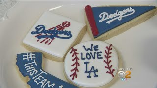 Oxnard Bakery Busting Out The Baseball Treats For Dodgers Feeding Frenzy