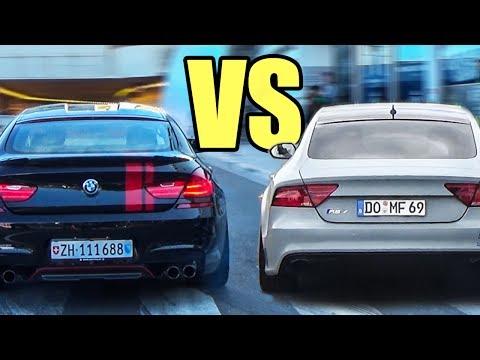 BMW M6 Vs Audi RS7 Vs Mercedes CLS63 AMG - Accelerations & Exhaust Sounds!🔥