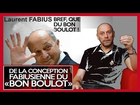 """A.SORAL """"démonte"""" Laurent FABIUS... """"Bref que du bon boulot""""...(Hd 720) remix"""