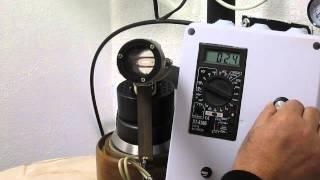 Самодельный пирометр с исчезающей нити.(Описание Больше о пирометра можно узнать по ссылке: http://www.chipmaker.ru/topic/143177/, 2014-11-07T17:36:20.000Z)