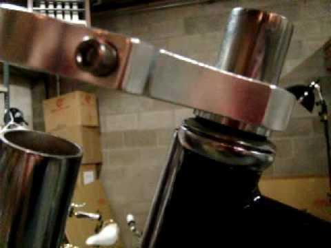 Bicycle Parts - chopper fork, headset, handlebar installation