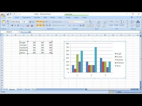 How to Add New Extra Data to Existing Excel Chart (Easy) - YouTube