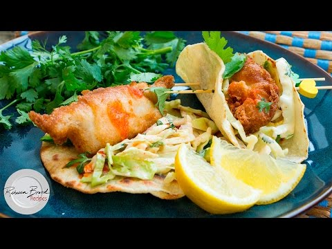 Baja Fish Tacos Recipe: Mexican Street Cart Taco Recipe