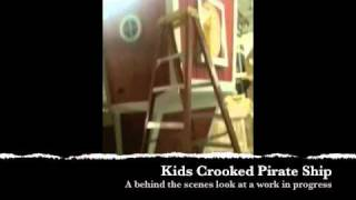 Kids Crooked Pirate Ship By Kids Crooked House