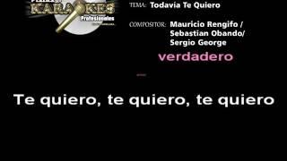 Thalia TODAVIA TE QUIERO Karaoke
