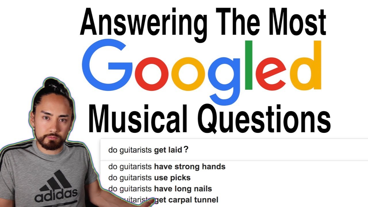 Answering The Most Googled Musical Questions - YouTube
