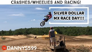Silver Dollar MX Race!! | Crashes, Wheelies and Racing!!