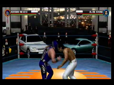 Lucha Libre Triple A Héroes del Ring Wii Gameplay