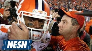 Clemson Upsets Alabama To Win National Championship, 35-31
