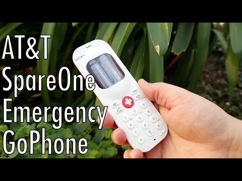 AT&T's SpareOne Emergency GoPhone might save your life some day...