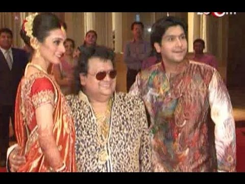 Bappa Lahiri's star studded reception
