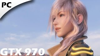 Final Fantasy XIII-2 | PC 1080p Gameplay | GTX 970