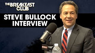 Governor Steve Bullock Explains His Campaign To Change Washington, Core Values + More