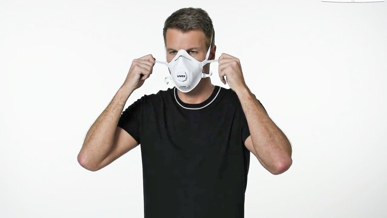 Schutzmaske Richtig Anlegen