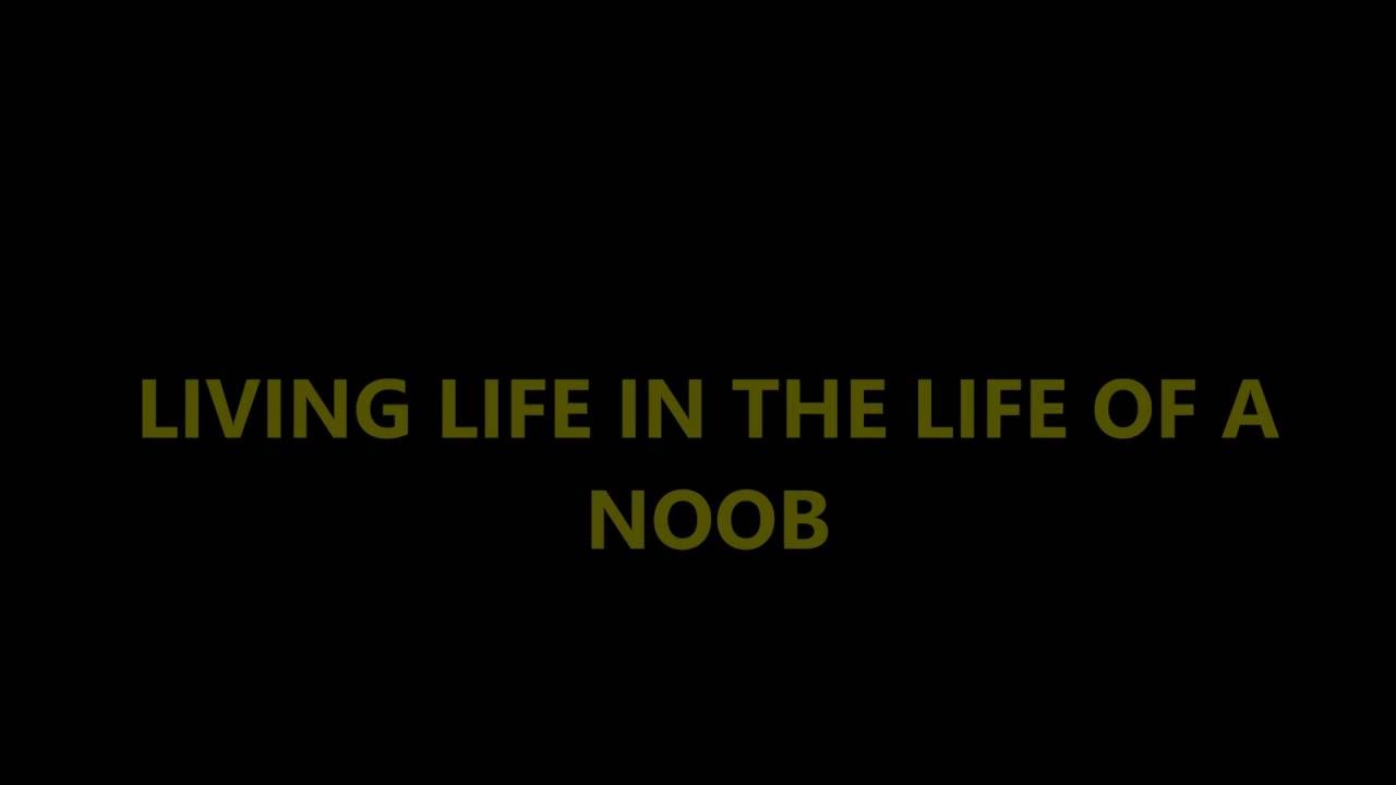 Living Life In The Life Of A Noob Requested Lyric Video Youtube