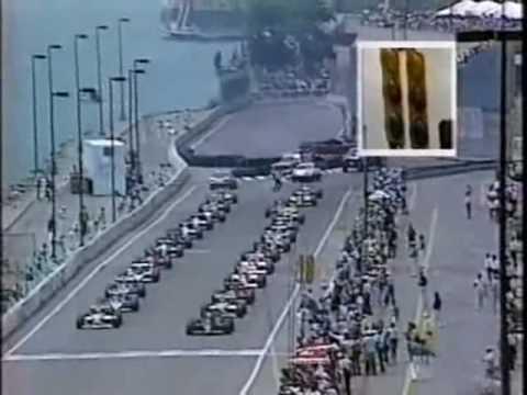 Ayrton Senna Vs Nigel Mansell GP Detroit 1986