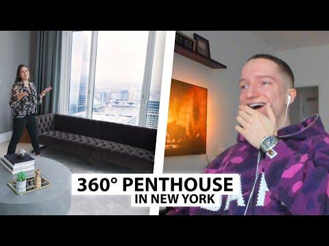 Justin reagiert auf 25.000.000$ Luxus Penthouse.. | Reaktion
