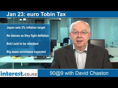 90 seconds at 9 am: euro Tobin Tax (news with David Chaston)