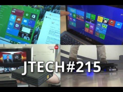 JTech 215 : Windows 10, Box Miami, Ultrabook, Hoverboard