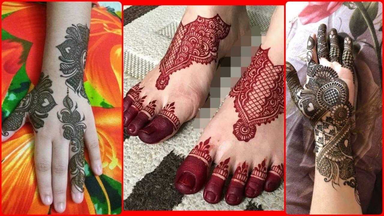 Letest mehndi designs 2019 ||wedding arabic mehndi design || Latest heena designs 2019 || #1