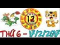 Tử Vi 2017 | Tử Vi 12 Con Giáp 2017: Thứ 6 - 17/2/2017 | Xem Tử Vi Hàng Ngày