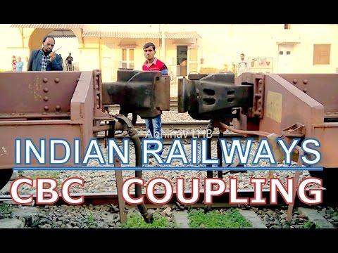 Coupling of CBC Rake | INDIAN RAILWAYS | Container Rake