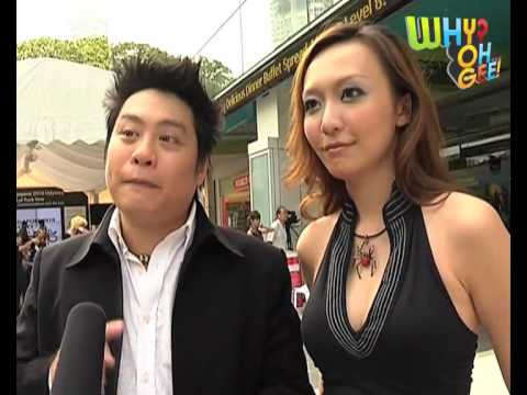 Magic Babe Ning and JC Sum at Singapore 2010 Odyssey Launch