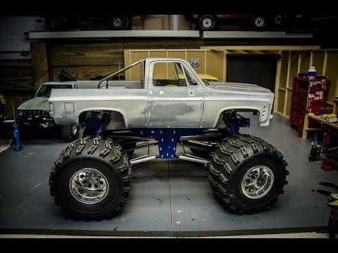 Custom Roll Bar For The Rc4wd K5 Chevy Blazer Body Youtube