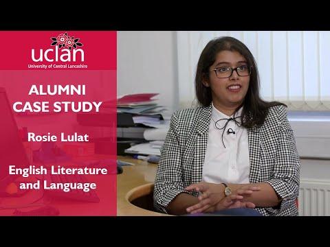 Alumni Case Study - Rosie Lulat