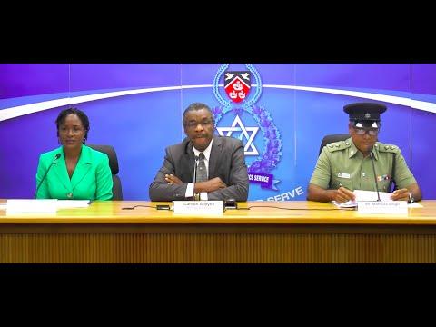 Trinidad and Tobago Police Service Weekly Media Briefing  (March 31st 2016)