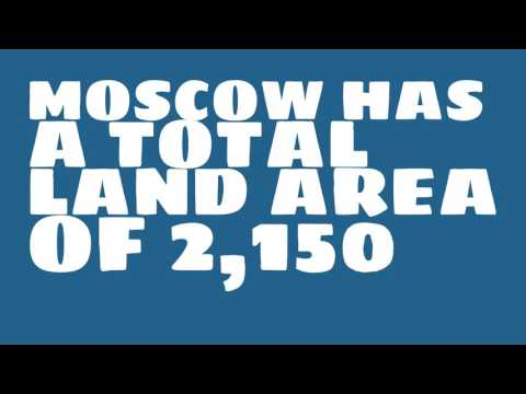 What is the population of Moscow?
