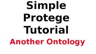 Simple Protege Tutorial 9: Creating and Publishing Another Ontology