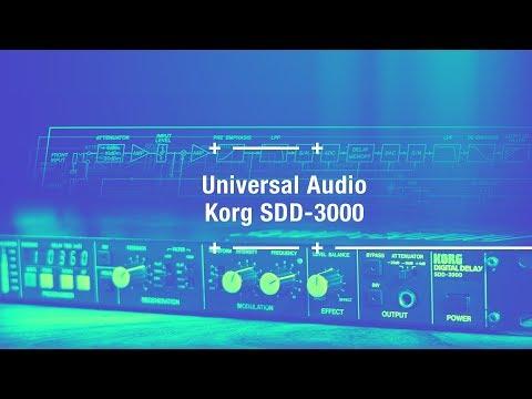 UAD Korg SDD-3000 Delay (plugin)